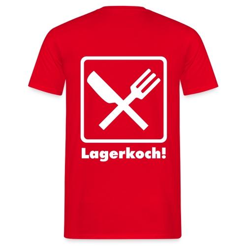 lagerkoch - Männer T-Shirt