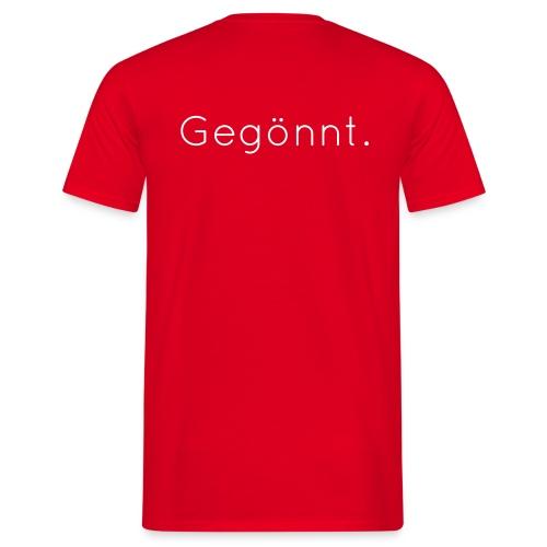 Gegönnt Quicksand - Männer T-Shirt