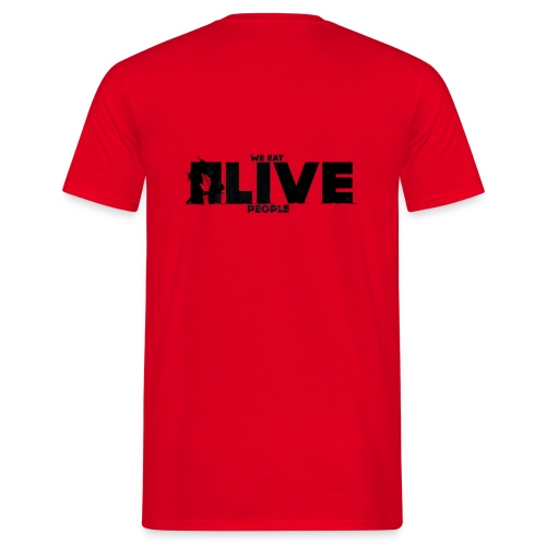 We eat Alive People - T-shirt Homme