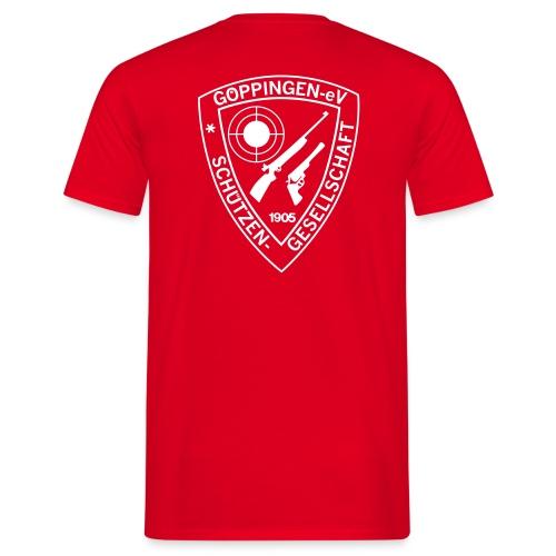 sg gp aufdruck pfad 50 - Männer T-Shirt