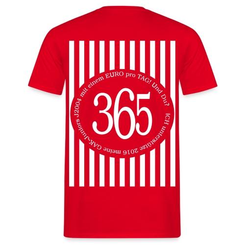2016-365-Supporter - Männer T-Shirt