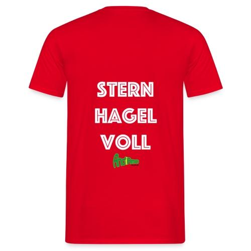 Sternhagelvoll - Männer T-Shirt