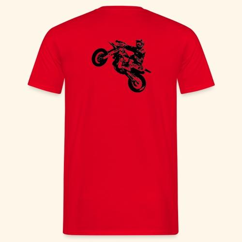Wheelie Design - Männer T-Shirt