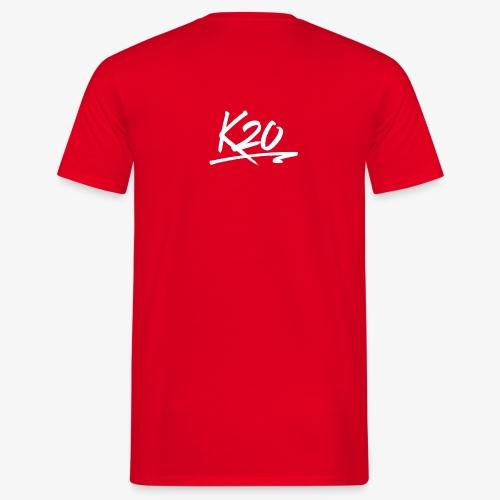 K20 Back Logo - Men's T-Shirt