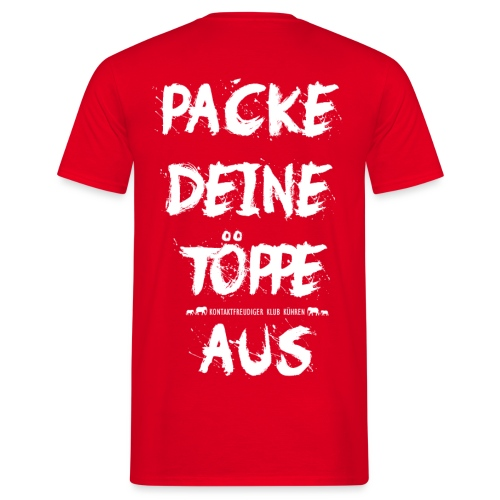 TÖPPE design - Männer T-Shirt