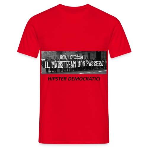 MAINSTREAM NERA - Maglietta da uomo