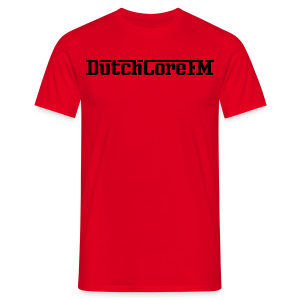 DutchCoreFM Logo Black - Men's T-Shirt