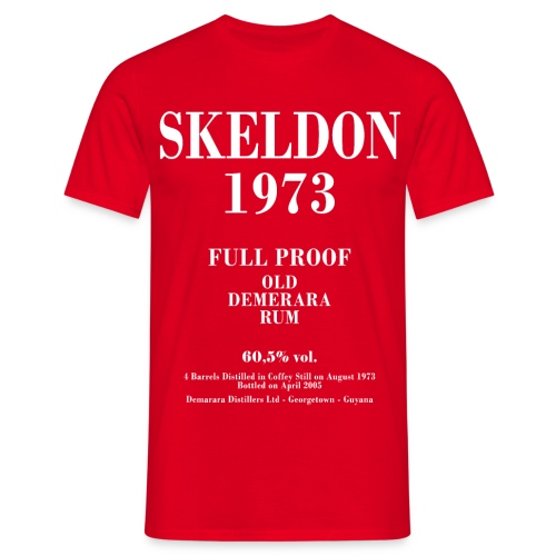 Skeldon Label Velier Demerara Designs - Herre-T-shirt