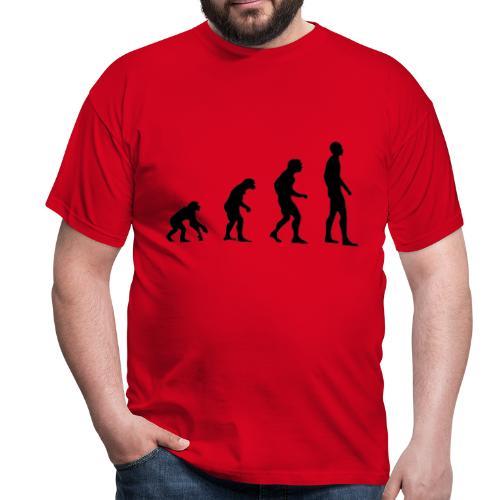 Du singe a l'homme - T-shirt Homme