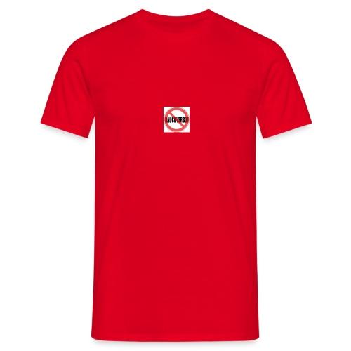 Gegen Rauchverbot Logo - Männer T-Shirt