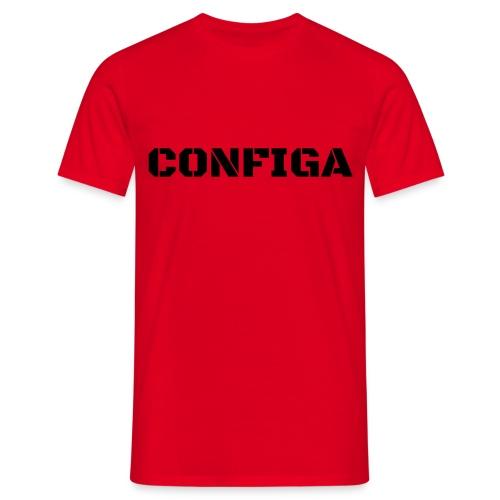 Configa Logo - Men's T-Shirt