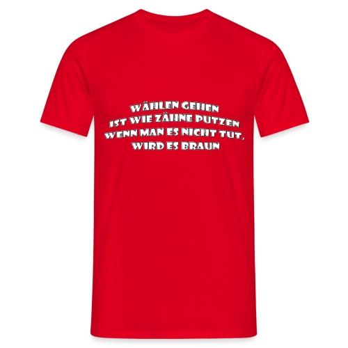 wählen - Männer T-Shirt