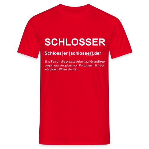 Schlosser Bezeichnung - Männer T-Shirt