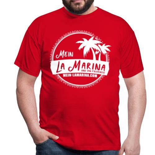 Mein La Marina und San Fulgencio / weiss - Männer T-Shirt