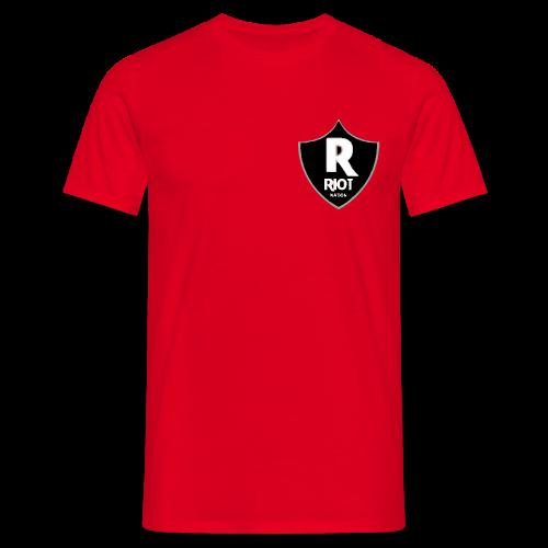 riot Nation logo schwarz - Männer T-Shirt