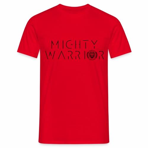 416_mighty_worrior - Männer T-Shirt