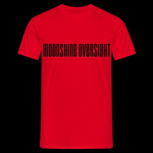 Moonshine Oversight logo - T-shirt Homme