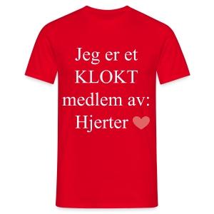 KLOKT Medlem - T-skjorte for menn