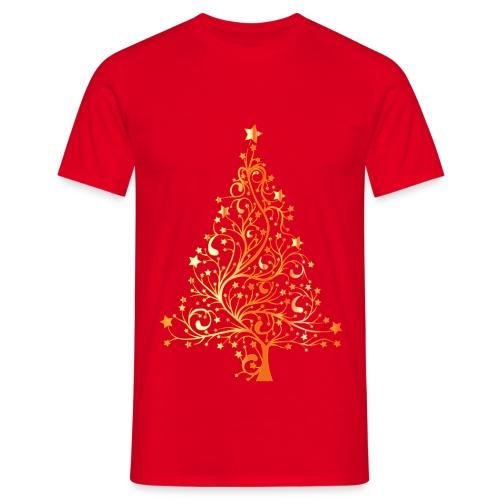 T-shirty Boże Narodzenie - Piękna choinka - Koszulka męska