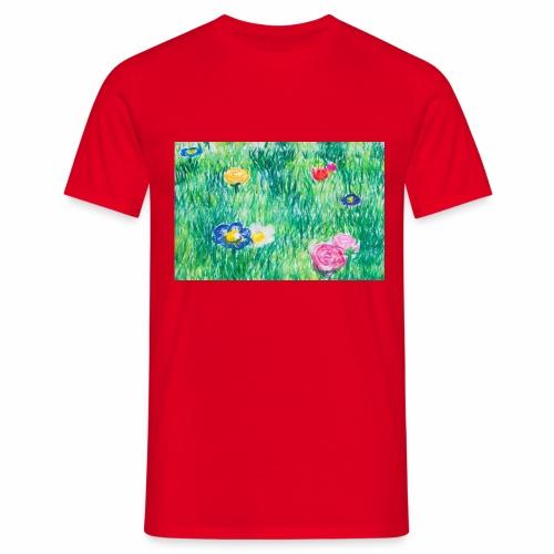 Blumenwiese - Männer T-Shirt