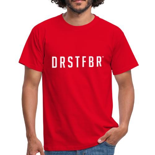 Durstfieber Schriftzug - Männer T-Shirt