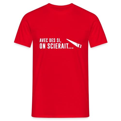 Scieraitblanche - T-shirt Homme