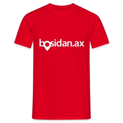 Bosidan.ax officiella logotypen - T-shirt herr
