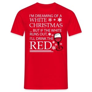 White Christmas - Men's T-Shirt
