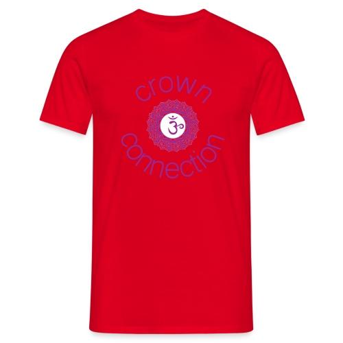 Crown Connection Logo - Men's T-Shirt