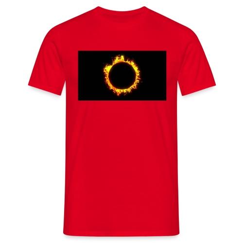 Flames - Herre-T-shirt