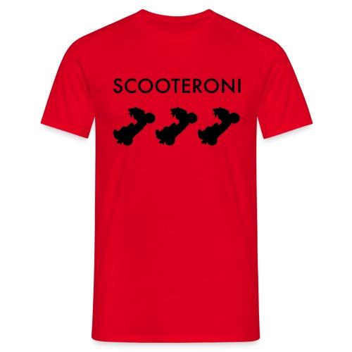 T-SHIRT SCOOTERONI BLACK - Maglietta da uomo