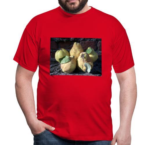 Quitten - Männer T-Shirt