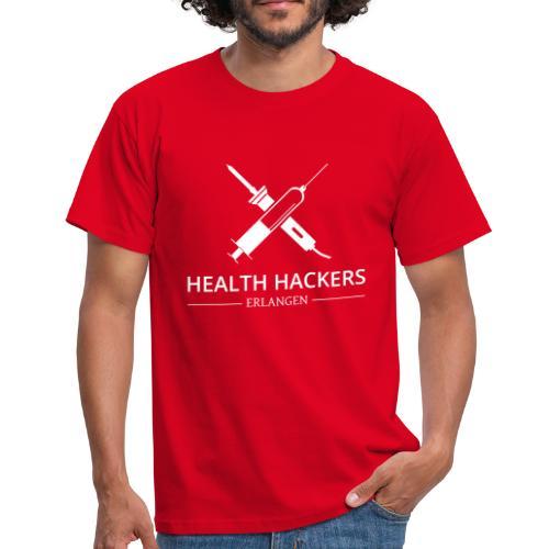 Logo Health Hackers e.V. - Männer T-Shirt