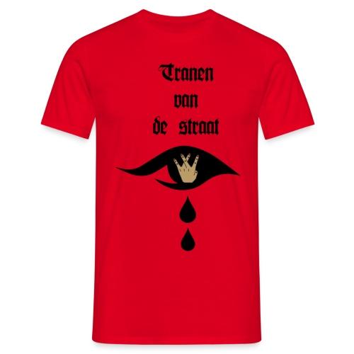 Tranen van de straat - Mannen T-shirt