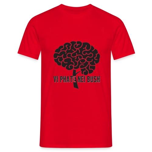 vi phate nei bush - logo - Maglietta da uomo