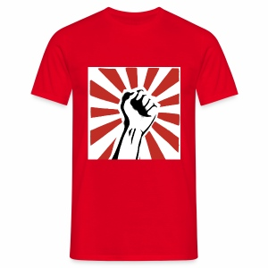 Revolution Fist - Mannen T-shirt