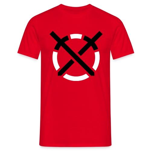 Símbolo «Arte do Combate» sobre amarelo - Camiseta hombre