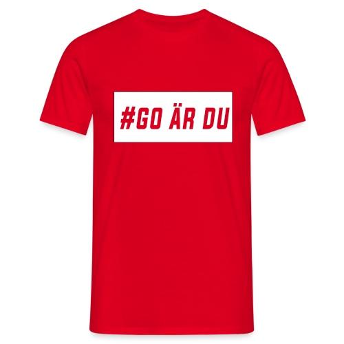 #go är du - T-shirt herr