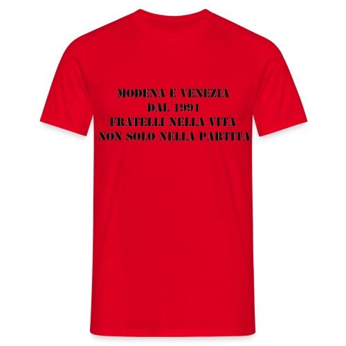 Gemellaggio Modena Venezia - Maglietta da uomo