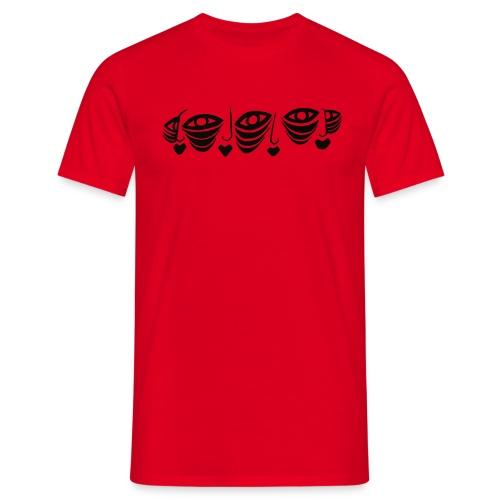 Faces Connected Illustration Version 2 - Men's T-Shirt