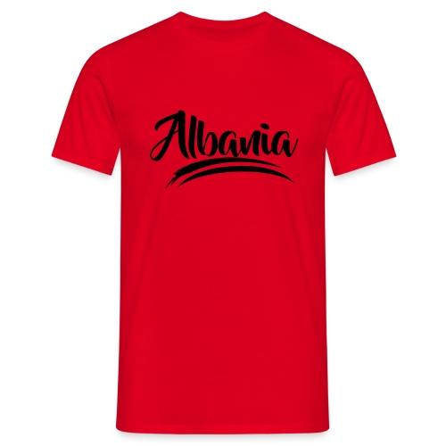 albania modern - Männer T-Shirt