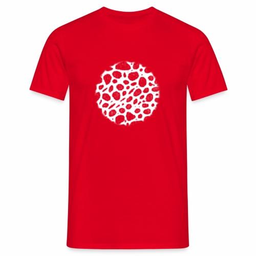 Muster Netz Weiß - Männer T-Shirt