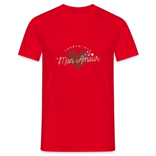 Corbynista Mon Amour - Men's T-Shirt