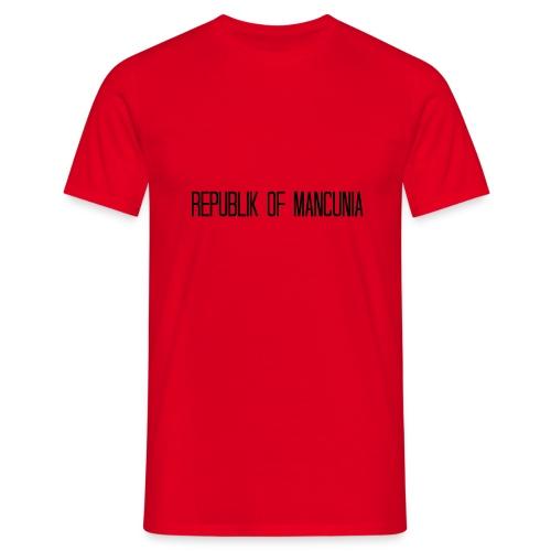 Republik of Mancunia - Men's T-Shirt
