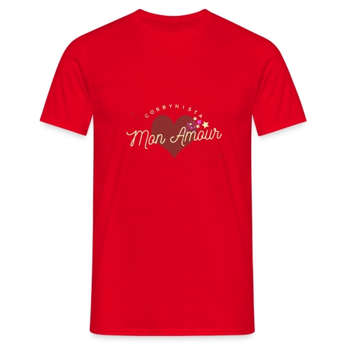 Corbynista Mon Amour - Men's T-Shirt