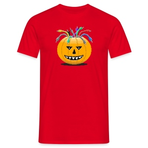 Pumpkin Spiced Patches - Männer T-Shirt