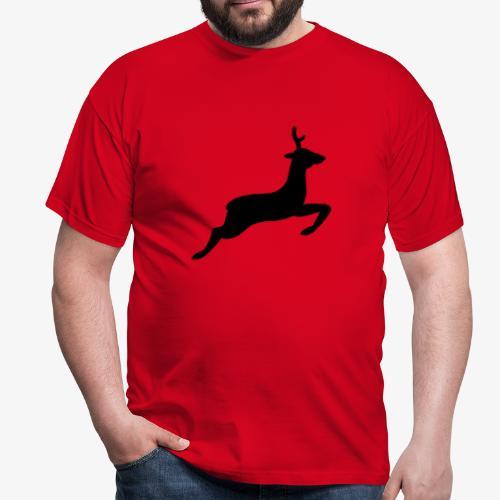 hirsch tehmen - Männer T-Shirt