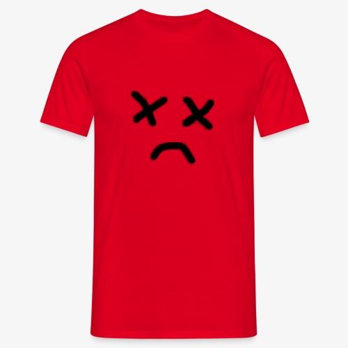 cara x triste 2 - Camiseta hombre
