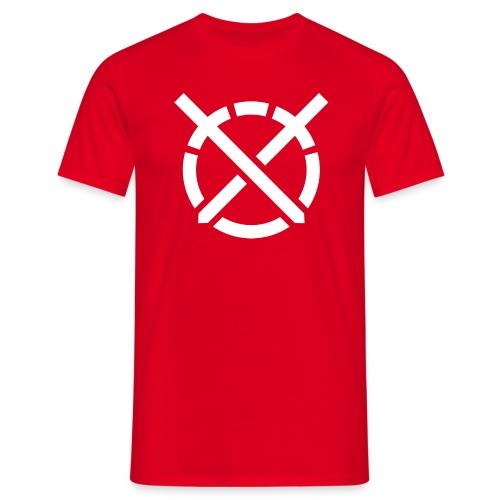 «Arte do Combate», simbolo em branco - Camiseta hombre
