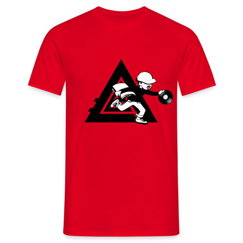 The Empire Kid - Red - Men's T-Shirt